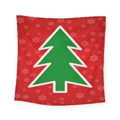 Christmas Tree Square Tapestry (small)