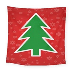 Christmas Tree Square Tapestry (large)