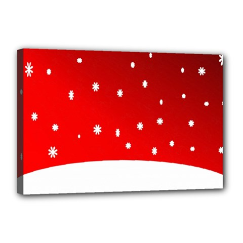 Christmas Background  Canvas 18  x 12