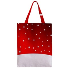 Christmas Background  Zipper Classic Tote Bag