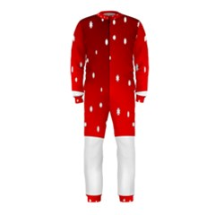 Christmas Background  OnePiece Jumpsuit (Kids)