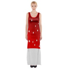 Christmas Background  Maxi Thigh Split Dress