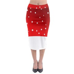 Christmas Background  Midi Pencil Skirt