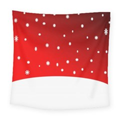 Christmas Background  Square Tapestry (large)