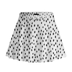 Dalmation Mini Flare Skirt