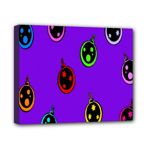 Christmas Baubles Canvas 10  x 8