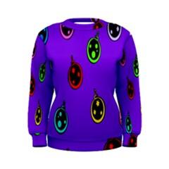 Christmas Baubles Women s Sweatshirt