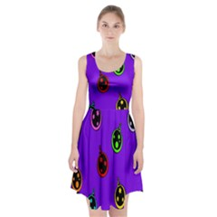 Christmas Baubles Racerback Midi Dress