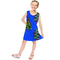 Christmas Trees Kids  Tunic Dress