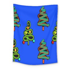 Christmas Trees Medium Tapestry