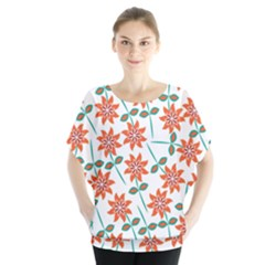 Clipart Floral Seamless Flower Leaf Blouse
