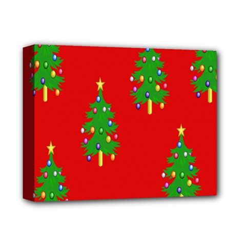 Christmas Trees Deluxe Canvas 14  x 11
