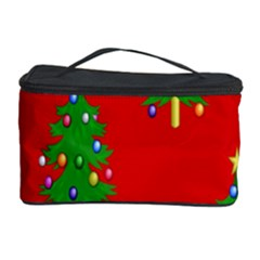 Christmas Trees Cosmetic Storage Case