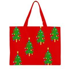 Christmas Trees Large Tote Bag