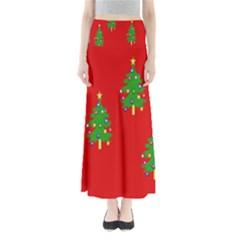 Christmas Trees Maxi Skirts