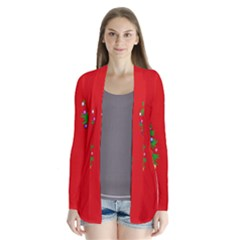 Christmas Trees Cardigans