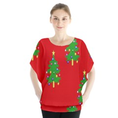 Christmas Trees Blouse