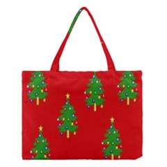 Christmas Trees Medium Tote Bag