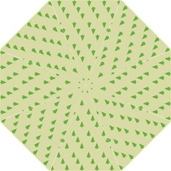 Christmas Wrapping Paper Pattern Folding Umbrellas