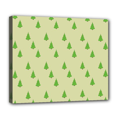 Christmas Wrapping Paper Pattern Deluxe Canvas 24  x 20