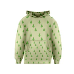 Christmas Wrapping Paper Pattern Kids  Pullover Hoodie
