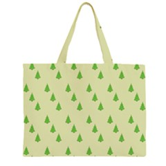 Christmas Wrapping Paper Pattern Large Tote Bag