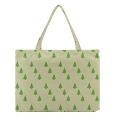 Christmas Wrapping Paper Pattern Medium Tote Bag