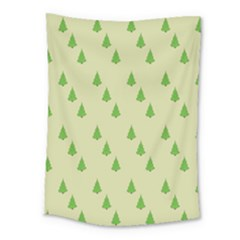 Christmas Wrapping Paper Pattern Medium Tapestry