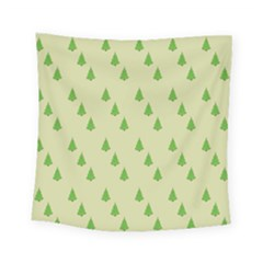 Christmas Wrapping Paper Pattern Square Tapestry (small)