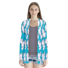 Clouds Seamless Blue Sky Cardigans