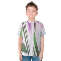 Colored Pattern Kids  Cotton Tee