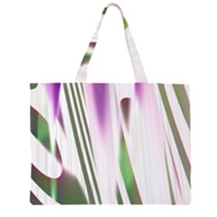 Colored Pattern Large Tote Bag