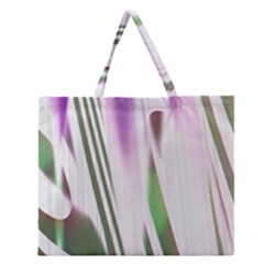 Colored Pattern Zipper Large Tote Bag
