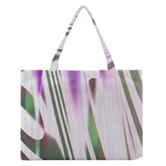 Colored Pattern Medium Zipper Tote Bag