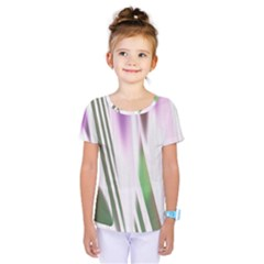Colored Pattern Kids  One Piece Tee