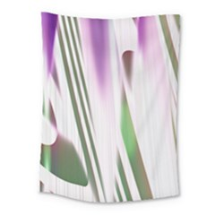 Colored Pattern Medium Tapestry