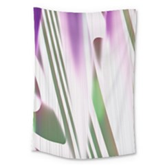 Colored Pattern Large Tapestry