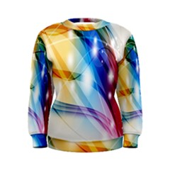 Colour Abstract Women s Sweatshirt