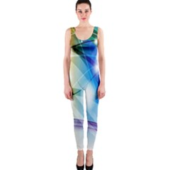 Colour Abstract OnePiece Catsuit