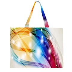 Colour Abstract Large Tote Bag
