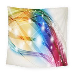 Colour Abstract Square Tapestry (large)