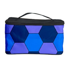 Four Colour Theorem Blue Grey Cosmetic Storage Case