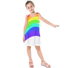 Rainbow Kids  Sleeveless Dress