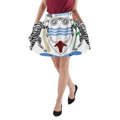 Coat of Arms of Botswana A-Line Pocket Skirt