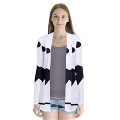 Cross Country Skiing Pictogram Cardigans