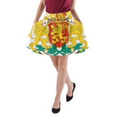 Coat of Arms of Bulgaria A-Line Pocket Skirt