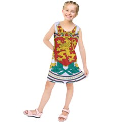 Coat of Arms of Bulgaria Kids  Tunic Dress