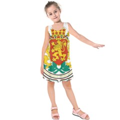 Coat of Arms of Bulgaria Kids  Sleeveless Dress