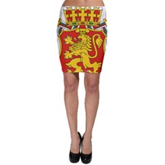 Lesser Coat Of Arms Of Bulgaria  Bodycon Skirt