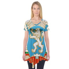 Coat of Arms of Bulgaria (1971-1990) Short Sleeve Tunic